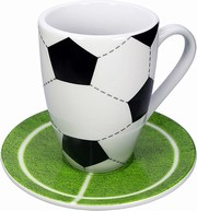 Football/Mug set - hrnek s talířkem